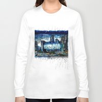 singapore Long Sleeve T-shirts featuring Singapore  by sladja