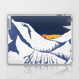 Mountain mysteries Laptop & iPad Skin