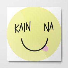Kain Na Metal Print