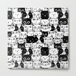 City of Kitties Metal Print
