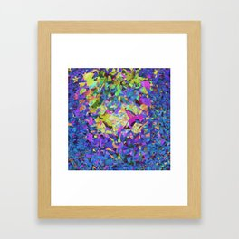 Blue Garden Framed Art Print
