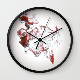 Ink dispersion Wall Clock