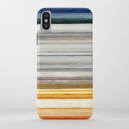 Colorbands Yellowstone iPhone Case