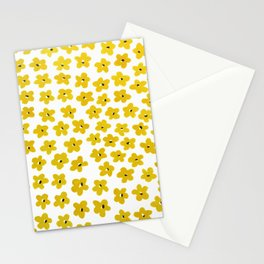 Yellow Pansies Stationery Cards