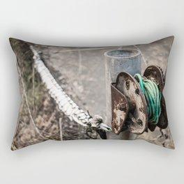 Old Rusty Rectangular Pillow