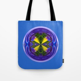 Dandy Four Abstract Globe Tote Bag