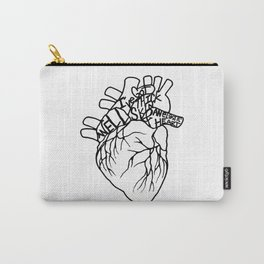 Elastic Heart Carry-All Pouch
