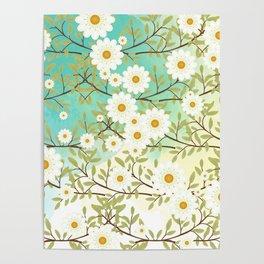 Springtime scene Poster