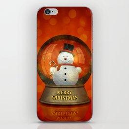 Christmas decoration iPhone Skin