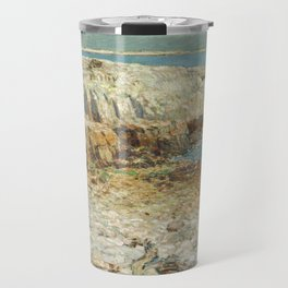 Childe Hassam A North East Headland 1901 Painting Travel Mug