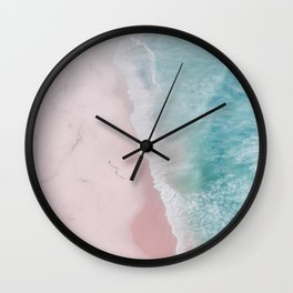 ocean walk Wall Clock
