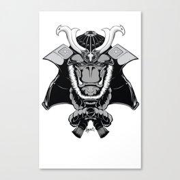 Savage Society: Gorilla Samurai Canvas Print