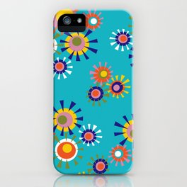 Circle a go go iPhone Case