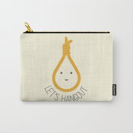Let's Hangout Carry-All Pouch