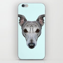 Whippet // Pastel Blue iPhone Skin