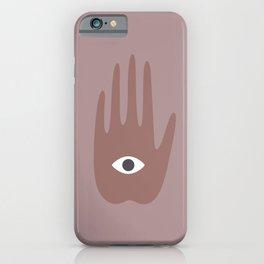 hamsa II iPhone Case