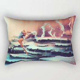 AQUARIUS from the Dancing Zodiac Rectangular Pillow
