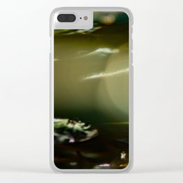 The Bokeh Fish One Clear iPhone Case