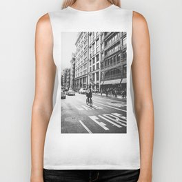 New York City Bicycle Ride in Soho Biker Tank