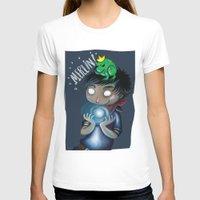 merlin T-shirts featuring Merlin!!! by Fla'Fla'