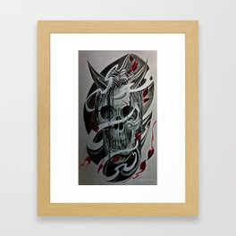 Hannya Framed Art Print