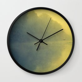 soft reflection Wall Clock