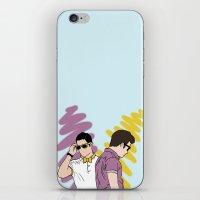 klaine iPhone & iPod Skins featuring Klaine by wellsi