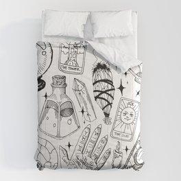 Fortune Teller Starter Pack Black and White Comforters