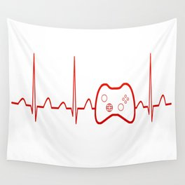 Game Heartbeat Wall Tapestry