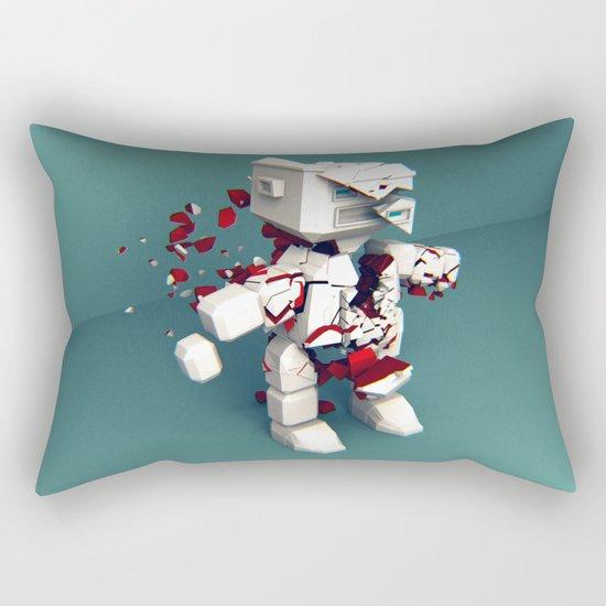 KILL ROBOT Rectangular Pillow