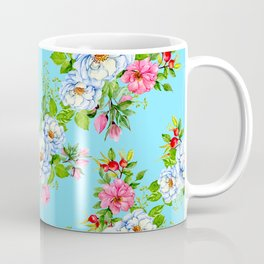 Vintage Floral Pattern No. 8 Coffee Mug