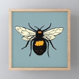Bumblebee vector Framed Mini Art Print