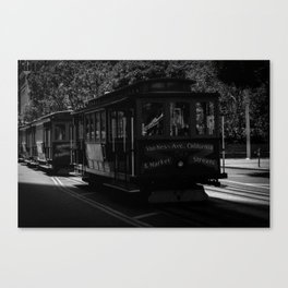 San Francisco Trolley  Canvas Print