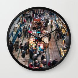 Budapest, Mercato | marketplace Wall Clock