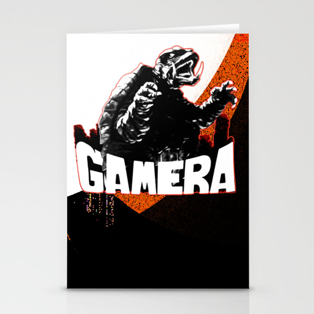 Gamera ?����ǣ Guardian Of The Universe Stationery Cards by Thanart CRD8965769