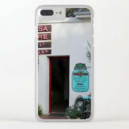 Herb Shop Clear iPhone Case