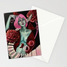 La nudité de Lili Chansonette Stationery Cards