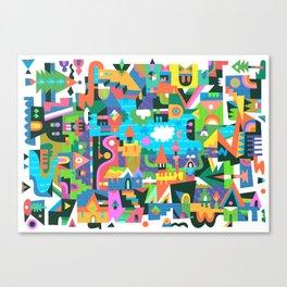 Neighbourhood 2 Canvas Print
