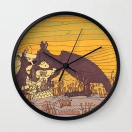 Roo Love Wall Clock