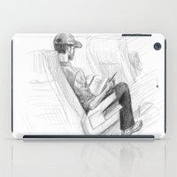 jfk iPad Cases featuring ATH>JFK by vagabond visuals