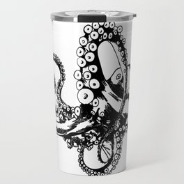 Octopus Sketch Travel Mug