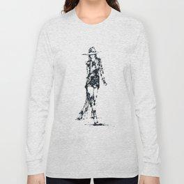 Splaaash Series - Fashion Walk Ink Long Sleeve T-shirt