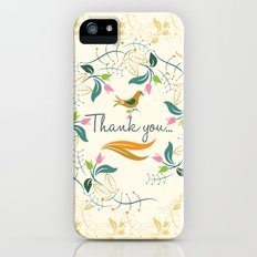 Thank you Slim Case iPhone (5, 5s)