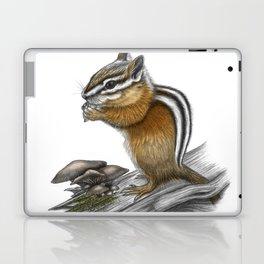 Chipmunk and mushrooms Laptop & iPad Skin