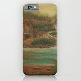 Misty Cove AC160814a iPhone Case