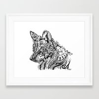 dreamer Framed Art Prints featuring Dreamer by René Campbell