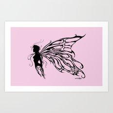 Tribal Fairy Art Print