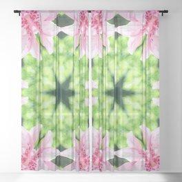 Flowering Sheer Curtain