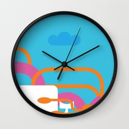 Seamonsters Wall Clock