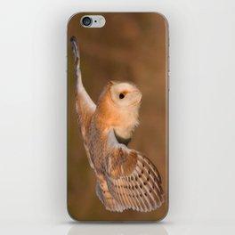 Barn Owl in Flight iPhone Skin